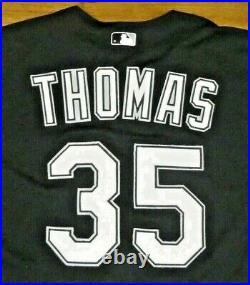 Frank Thomas Baseball HOF Game Worn Used Chicago White Sox Jersey with Mears LOA