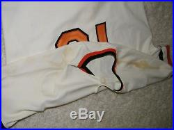 Fred Lynn 1986 Baltimore Orioles Game Worn Used Jersey Boston Red Sox
