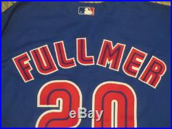 Fullmer #20 sz 50 2000 Toronto Blue Jays Game used jersey Alternate Blue COA