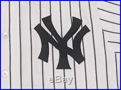 GARDNER #11 2017 Yankees Game used Jersey HOME BLACK BAND POST STEINER MLB