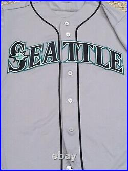 GORDON size 40 #9 2018 Seattle Mariners game used jersey road gray MLB HOLOGRAM