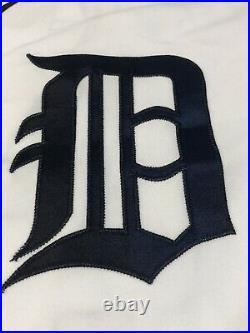 GU JOEL ZUMAYA 2006 ALCS Game4 GAME USED Detroit Tigers Jersey MLB Authenticated