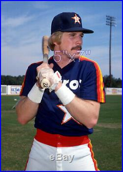 Game Used Worn Jersey Houston Astros 1983 Scott Loucks Very Rare Example