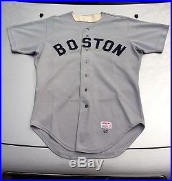 cb154d5ff Game Worn 1985 Joe Morgan Boston Red Sox Baseball Jersey Vintage Used