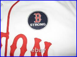 Game Worn Boston Red Sox Boston Strong/Marathon Jersey Ross
