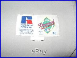 Game Worn David Segui Montreal Expos Road Jersey-1996
