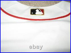 Game Worn/Issued Boston Red Sox 2013 World Series Champs Opening Day Jersey-Gold