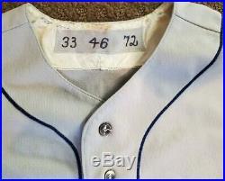 Game Worn Mets Jersey-1972 Road-Ray Sadecki