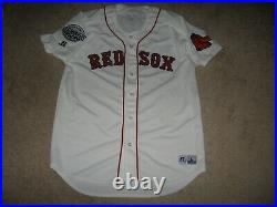 Game Worn Rafael Devers Salem Red Sox Home Jersey-Boston Red Sox