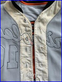 Game worn Baltimore Orioles jersey 1980 set 2 Scott McGregor road grey Baseball