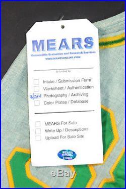 Gene Tenace 1971 Signed Oakland A's Vintage Game Used Jersey Vest Jsa Mears