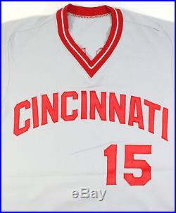 George Foster Cincinnatti Reds 1982 Game Issued Jersey Set 1