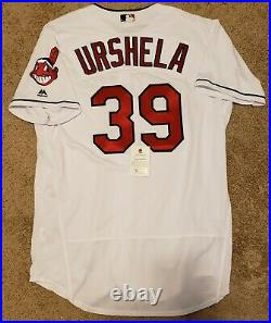 Gio Urshela Team Issued Cleveland Indians Jersey MLB Authenticated