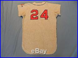Herb Hippauf 1966 Atlanta Braves game used road jersey flannel First Year