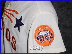 Houston Astros 1969 Game Used / Worn Jersey. Larry Dierker. Shooting Star