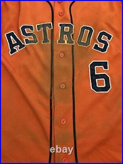 Houston Astros Jake Marisnick Game Used Jersey Mike Fiers No Hitter 8/21/15 Holo