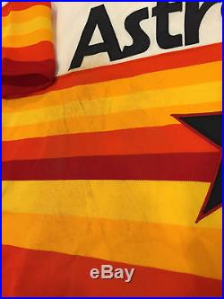Houston Astros Jose Altuve 1979 Turn Back Clock Game Worn Used Uniform MLB Auth