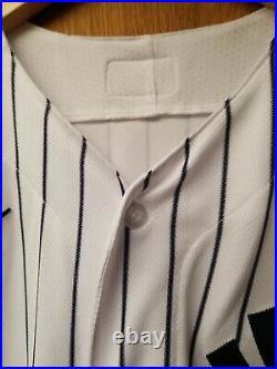Hoy Jun Park GAME USED 3/7/21 New York Yankees Spring Training Jersey Nameplate