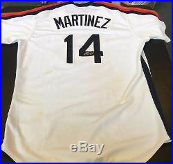 J. D. Martinez Signed Rookie Game Used 2012 Houston Astros Retro Jersey MLB Auth