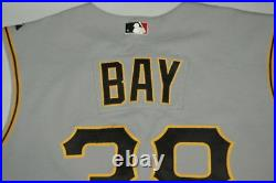 JASON BAY Pirates Game Worn Used Jersey 2004 NL ROY 2006 All Star CB HOF Member