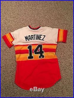 JD Martinez Game Used/Worn Jersey Houston Astros Detroit Tigers TBTC