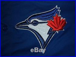 Jose Bautista Toronto Blue Jays 2012-2013 Game Worn Used Jersey (pirates)