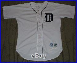 Juan Gonzalez Detroit Tigers 2000 Game Used Worn Jersey With Mears Loa (rangers)