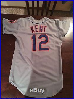 Jeff Kent Game Used/Worn Jersey New York Mets