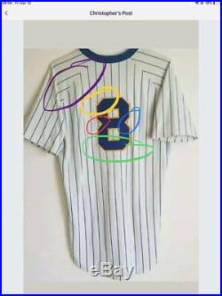 Jim Sundberg game used 1984 Brewers jersey, Photo Matched, Miedema Authenticated