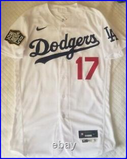 Joe Kelly Los Angeles Dodgers Team Issued 2020 World Series Jersey Champs MLB