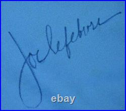 Joe Lefebvre Philadelphia Phillies 1985 Wilson Game Jersey Full Zip Powder Blue