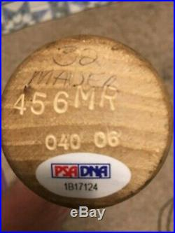 Joe Mauer 2006 Twins Game Used Photo Match HR Bat First Batting Title PSA GU 10