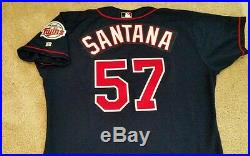 Johan Santana Circa 2002 Minnesota Twins Game Used Jersey! Mets! LOA
