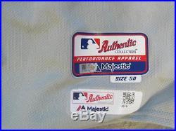 Jonathan Papelbon Philadelphia Phillies Game Used 2015 Stars n Stripes Jersey
