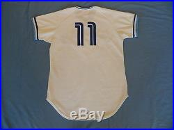 Jorge Bell 1983 Toronto Blue Jays non game used jersey