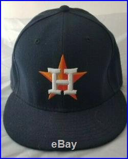 Jose Altuve Astros Opening Day 2013 game worn used cap, MLB auth'd