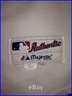 Jose Guillen 2004 ANAHEIM ANGELS Game-Worn Home Jersey #6 MLB Used Uniform