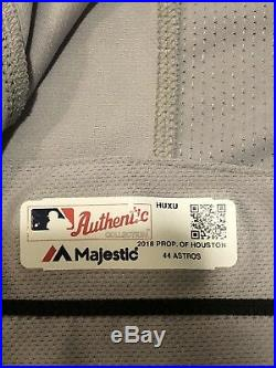 Ken Giles 2018 Game Used Worn Houston Astros Memorial Day Road Jersey MLB Auth