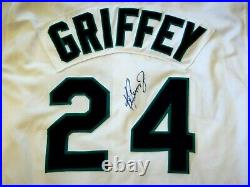 Ken Griffey Jr. Game Used Worn 1999 Seattle Mariners Autograph Jersey Signed