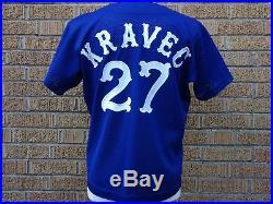 Ken Kravec 1979 Chicago White Sox Game Worn/game Used Jersey