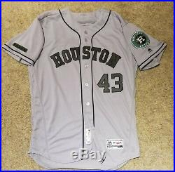 Lance McCullers 2018 Authentic Game Houston Astros Memorial Day Jersey