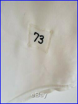Larry Dierker 1973 Astros Shooting Star game worn used home jersey, Heritage LOA