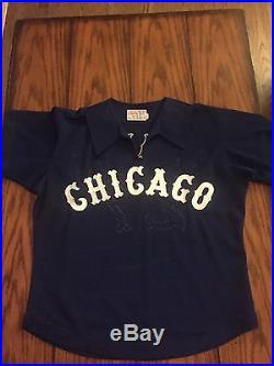 Late 1970s game used jersey Ken Kravec Chicago White Sox LOA South Side Hitmen