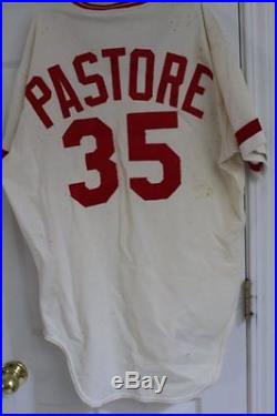 Late 70's early 80's Frank Pastore Cincinnati Reds Game Used Rawlings Jersey