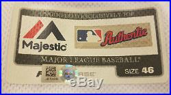 Los Angeles Dodgers Andre Ethier World Series Game Used Game Worn Home Jersey