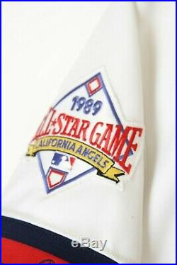 MARK LANGSTON 1989-1990 ANGELS Game Worn Jersey
