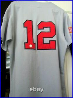 MARK REYNOLDS #12 TEAM U. S. A. 2006 GAME JERSEY COPABE Olympic Quals in Havana