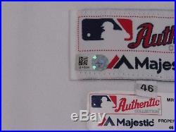 MIKE HAMPTON size 46 2017 Seattle Mariners TBTC 1977 GAME USED Jersey WORN MLB