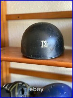 MILT MAY 1978 Detroit Tigers Game Used Worn Batting Helmet