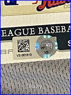 MLB Authenticated Randy AROZARENA MLB DEBUT & 2019 NLCS Postseason Jersey